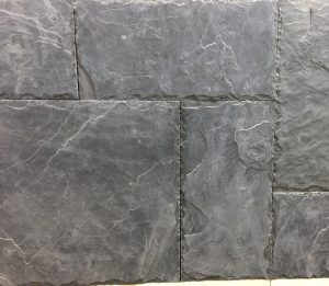 slate chiseled edges pattern