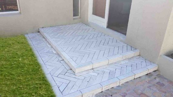 Brick tile cladding