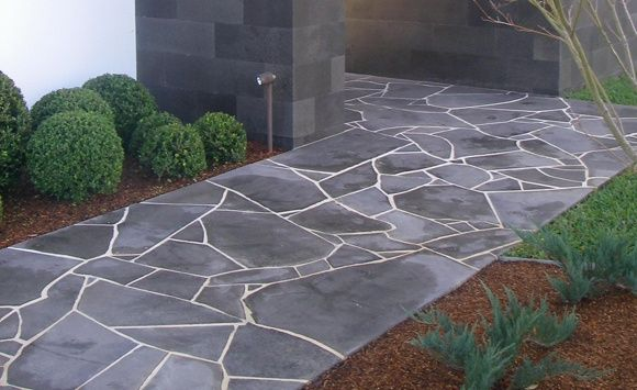African Grey Crazy Paving Flagstone Www Persiantile Co Za
